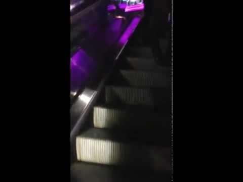 Frank theatre Ft Lauderdale escalator