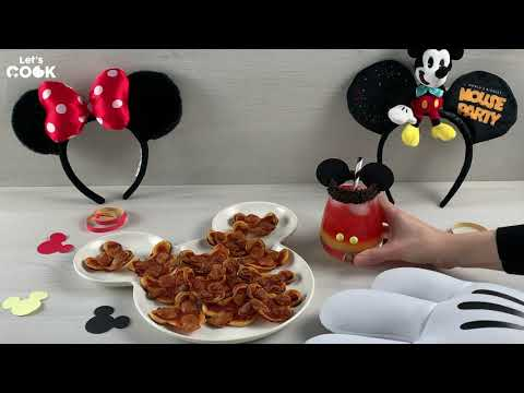 [Let's Cook] Mocktail Mickey et Minnie-Pizzas