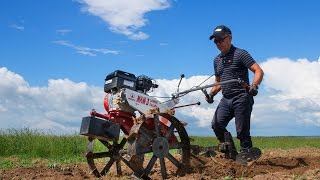 видео Мотоблок Салют 100: характеристика и эффективное применение с навесным оборудованием