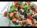 Berry Blue Summer Salad Recipe - Strawberry Poppyseed Salad | RadaCutlery.com
