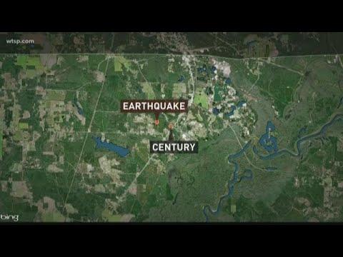 Rare earthquake hits the Florida panhandle