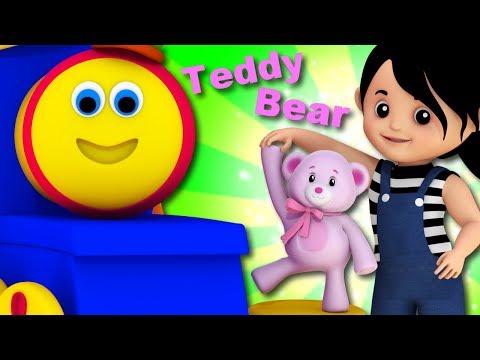 Teddy Bear Teddy Bear Turn Around | Bob The Train | Video For Babies