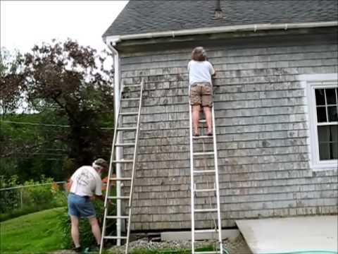Fixing Cedar Shingles And Getting Ready To Paint Youtube