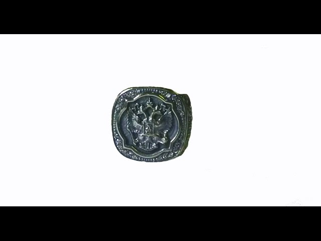 Печатка с гербом\The signet ring with the arms of Russia