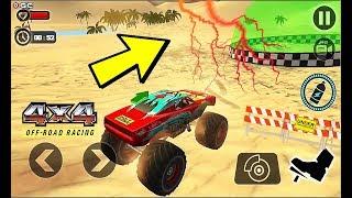 Off Road Monster Truck Derby 2 Desert LV9 13 4x4 Monster Truck Games - Android Gameplay Video #2