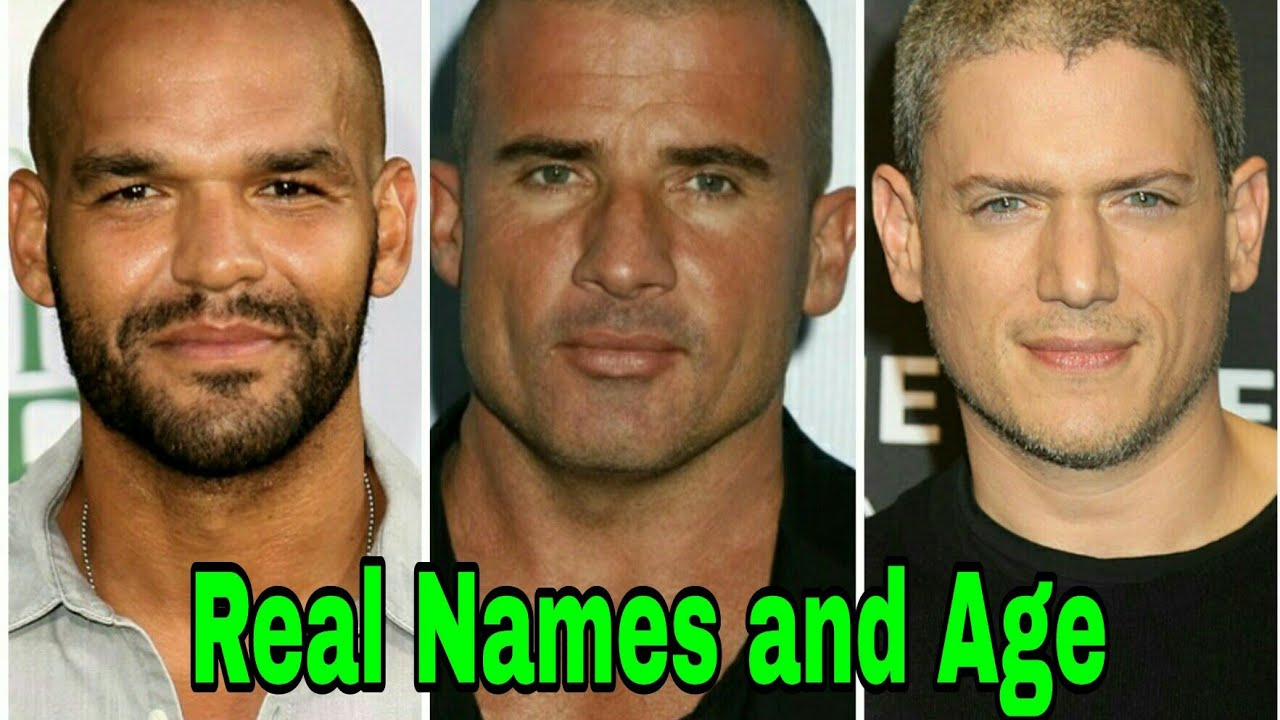 Prison Break Cast Real Names And Age Youtube