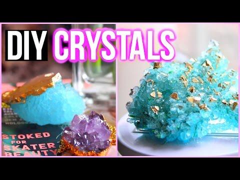 Diy Crystals At Home! Tumblr Inspired Room Decor