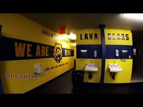 Bend Senior High School Football Locker Room
