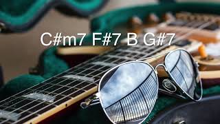 Cool Modern Neo-Soul/R&B Backing Track | 2-5-1-6 (B Major)