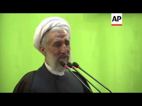 Senior cleric says Iran's nuclear programme is Iran's business