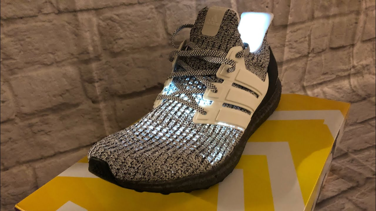 best sneakers 6ac29 3ea21 UltraBOOST 4.0 Cookies and Cream On Foot Review.Black UltraBOOST Sole.