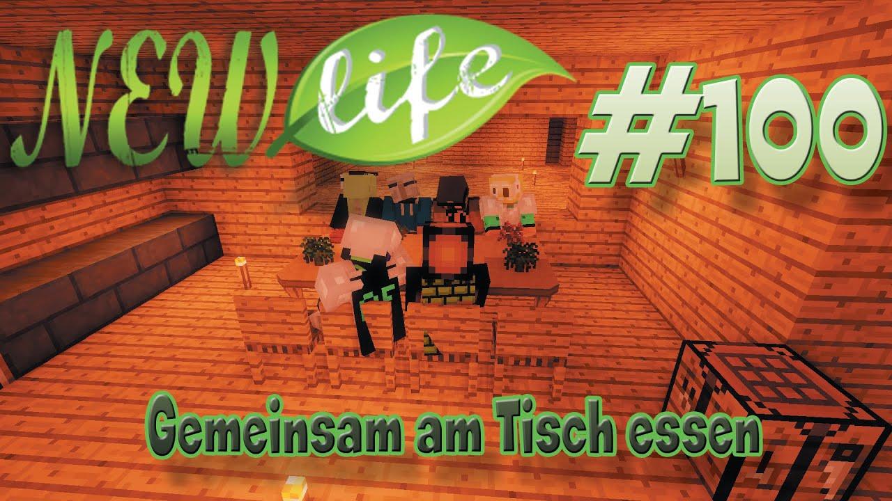 Gemeinsam Am Tisch Essen In Minecraft New Life #100