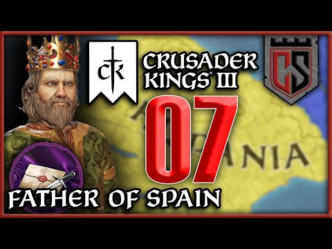 All Hail The Emperor! | Crusader Kings III | Father Of Spain | Episode 7