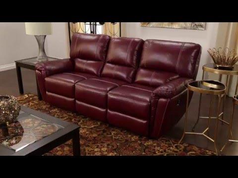 Jerome S Furniture Collin Reclining Sofa Youtube