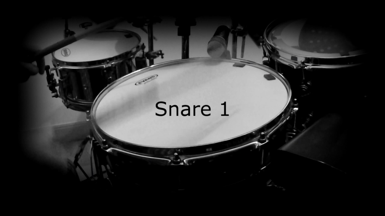 Ludwig Black Beauty Blind Snare Wires Test (Standard vs. Canopus ...