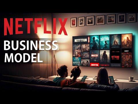 Netflix Business Model Strategy