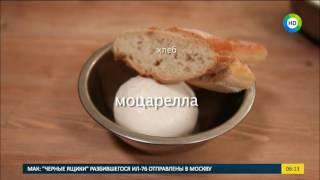 Готовим итальянский завтрак: Жареная моцарелла в хлебе с панировкой