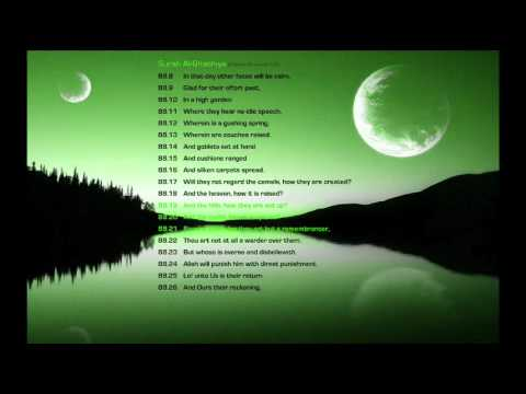 Surah Al - Ghashiya (Chapter 88 Verses 8-26 of the Holy Qur'an) Recited by Muhammad Madian
