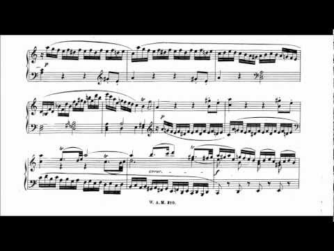 Mozart Piano Sonata No. 8 in a-minor KV 310, Grigory Sokolov