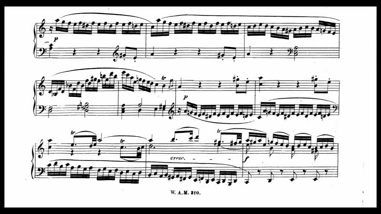 Left hand trills problem - Mozart
