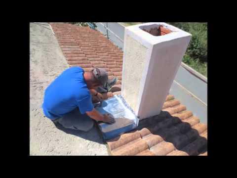 Construcci n de tejado y remates principales youtube - Como construir un tejado ...
