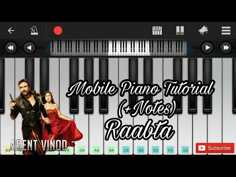 Raabta (agent vinod) easy mobile perfect piano...