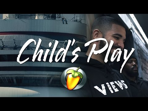 Drake - Child's Play (Views Instrumental Remake FL Studio)