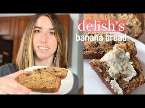 Making Delish S Best Ever Banana Bread Youtube