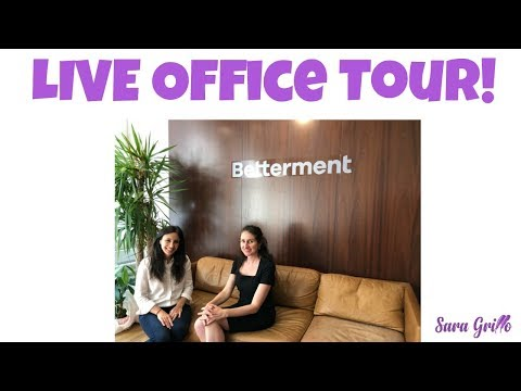 The Financial Services Office of the Future  - My Tour of Betterment in NYC
