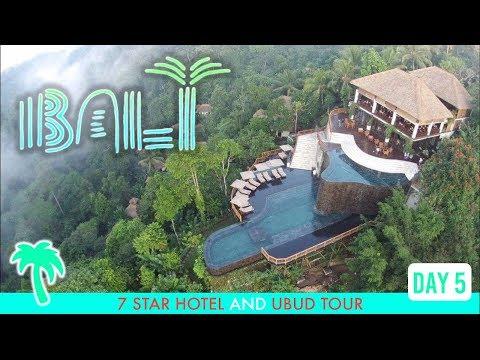 World's First 7-STAR Hotel in BALI 🏝(UBUD TOUR: Best Resort, Coworking, Local Food & Nightlife)