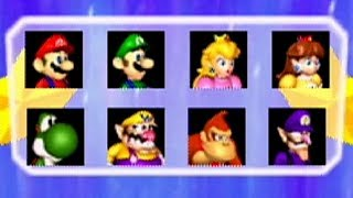 Mario Party 3 - All Characters