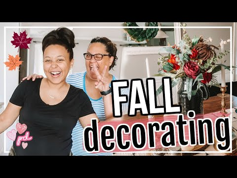 DECORATE FOR FALL WITH ME 2019   FALL DECOR IDEAS!   Page Danielle