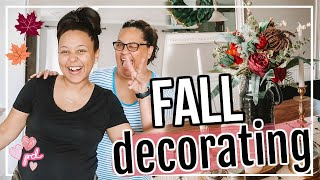 DECORATE FOR FALL WITH ME 2019 | FALL DECOR IDEAS! | Page Danielle