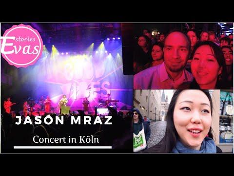 2019 Jason Mraz Concert In Köln !!! Vlog | 在德国看男神Jason Mraz 演唱会,巧遇科隆狂欢节 | Good Vibes Tour