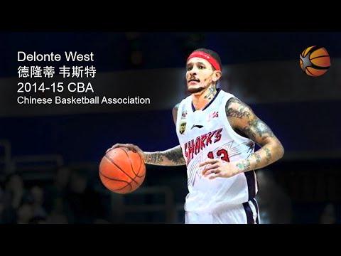 Delonte West China 2014-15 CBA | Full Highlight Video [HD]