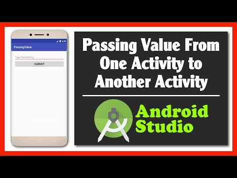 Passing Edit Text Value From One Activity to Another