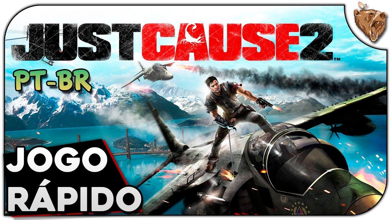 METAL BEAR - Jogo Rápido:Just Cause 2  - Gameplay Português Vamos Jogar PT-BR