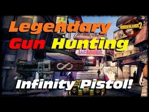 borderlands 2 how to get infinity pistol