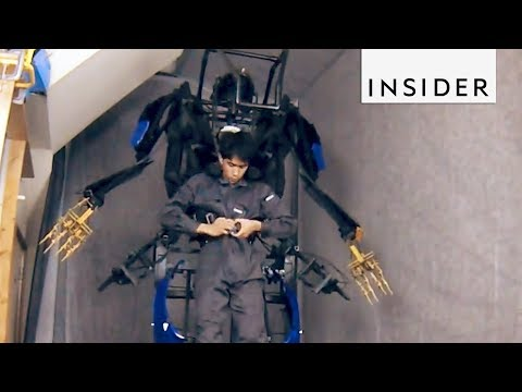 Superhero Exoskeleton Suit Comes to Life