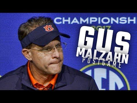 Gus Malzahn, Jarrett Stidham address the media following Auburn