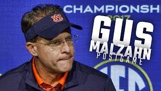 Gus Malzahn, Jarrett Stidham address the media following Auburn's SEC Championship loss to Georgia