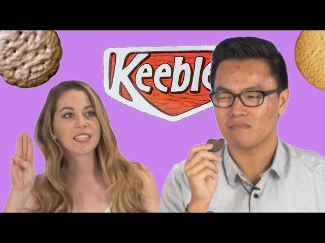 Real Vs. Imitation Girl Scout Cookie Taste Test