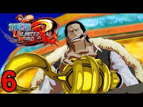Let's Play One Piece Unlimited World Red [German][Blind][#6] Das Krokodil