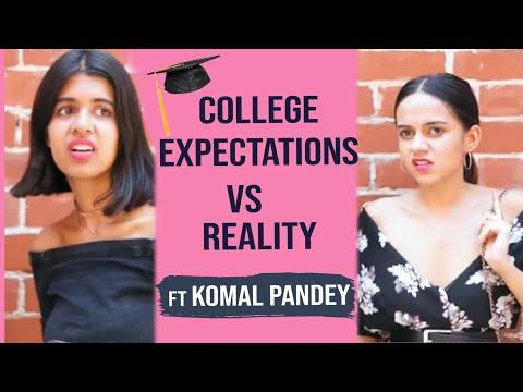 College in Real Life ft Komal Pandey   Sejal Kumar