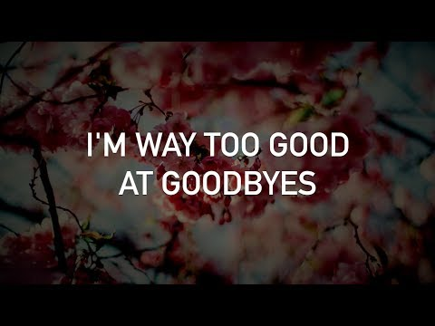 Demi Lovato - Too Good at Goodbyes (Sam Smith cover, with lyrics)
