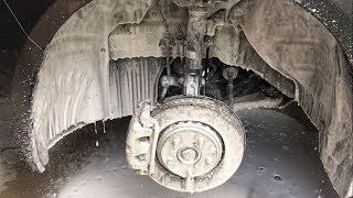Wheel Well Cleaning DIY