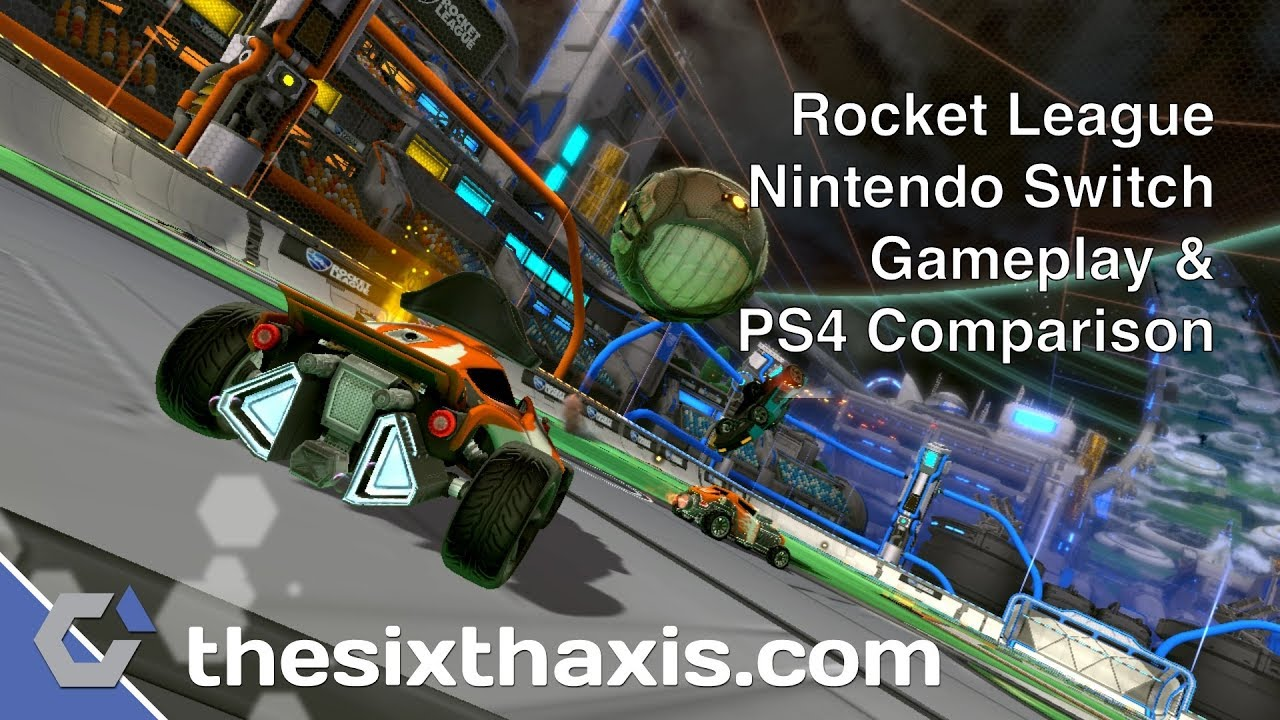 Rocket League For Nintendo Switch – Gameplay & PS4 Comparison