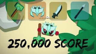 Starve Io SERVER TAKEOVER 250000 SCORE DRAGON SPEAR SWORD AND HELMET RIPARBCLAN
