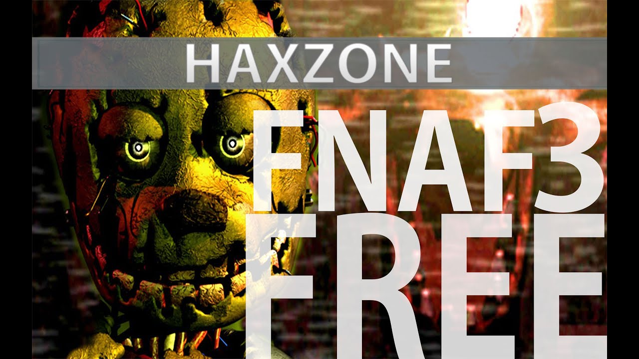 How to download fnaf 3 full on android free youtube