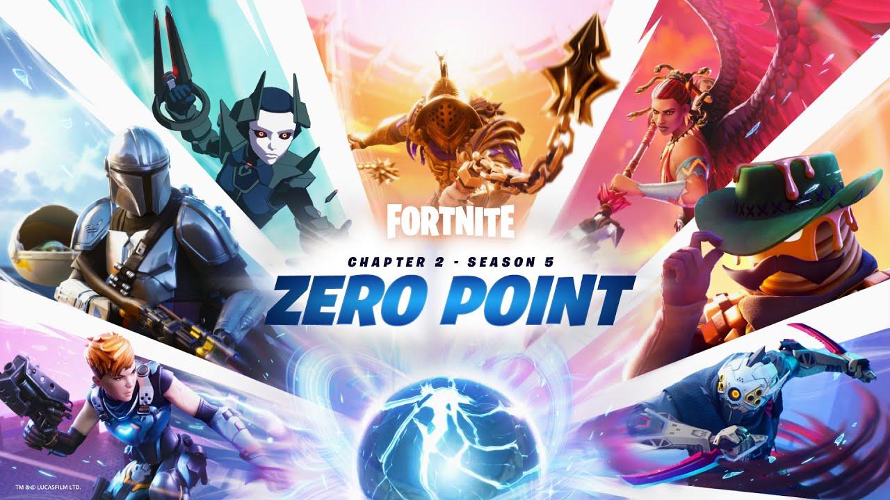 Zero Point Story Trailer for Fortnite Chapter 2 - Season 5 | PS4